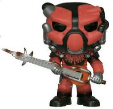 <b>Фигурка</b> Funko POP Games: <b>Fallout</b> 76 – X-01 Power Armor Red (9 ...