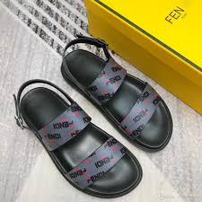 Best Men S Designer Sandals Fashion Luxury Designer Man Shoes Flat Men Sandals High Quality Mens Designer Sandals Shoes With Box Men Sport Shoes Size38 45