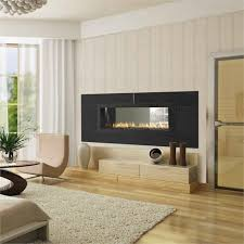 Red 40 See-Through Gas Fireplace from Heat & Glo
