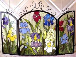 stained glass fireplace screens viral this year as well as stained glass fireplace screens stained glass