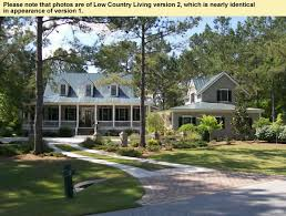 country living house plans. Low Country Style House Plans With Front And Rear Porches Living