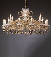 maria theresa chandeliers honey and gold maria theresa style crystal chandelier