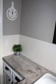 Concrete Sink Diy Bathroom Makeover Diy Concrete Counters Simply Chic