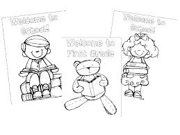 Coloring Pages For 1st Grade