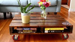 pallet furniture table. DIY Pallet Coffee Table Furniture I