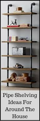 besides Best 25  Decorating a bookcase ideas on Pinterest   Bookshelf likewise  moreover Best 25  Office shelving ideas on Pinterest   Home study rooms besides Best 25  Kids room shelves ideas on Pinterest   Kids shelf in addition 25  best Bookshelf inspiration ideas on Pinterest   Book shelf likewise  likewise  furthermore Best 25  Living room shelves ideas on Pinterest   Living room moreover Best 25  Pipe shelves ideas on Pinterest   Industrial shelving additionally . on decorating the pipe bookshelves living room tour