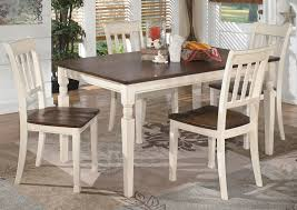 whitesburg rectangular dining table w 4 chairs bench