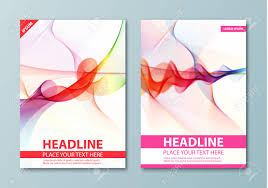 Abstract Background Flyer Brochure Poster Presentation Leaflets