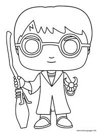 Coloring is a fun way to develop your creativity, your concentration and motor skills while forgetting daily stress. Harry Potter Balai Coloring Pages Printable