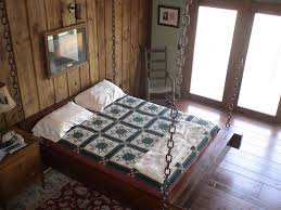 Glamorous Hanging Bed Frame Plans Pictures Design Ideas