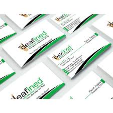 Modern Professional Business Business Card Design For