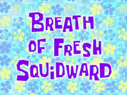 This is a replica font of what's found on the time cards in the spongebob squarepants series. 24 Spongebob And Patrick Act Like Squidward Terbaru Lingkar Png