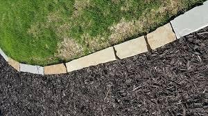 natural stone borders