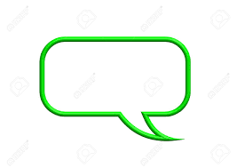 Green Text Bubble Green Speech Bubble