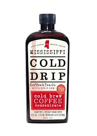 Refrigerating coffee beans = a better start to your morning. Cold Brew Coffee Concentrate 16 Ounce Bottle Mississippi Cold Drip Coffee Tea Company