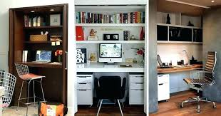 turned into space saving wardrobes computer desk wardrobe best closet ideas on with regard home office in a size