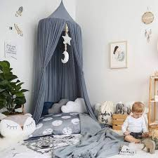 Children's Kids Bed Canopy Curtain Hanging Mosquito Nets For Adult ...