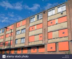 Uk Abandoned Derelict Council Housing Estate In Hackney To Put For