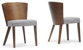 modern dining chairs. Elegant Set Of Dining Chairs Sparrow Wood Modern 2 Contemporary D