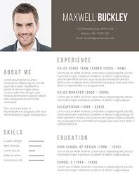 Resume Word Template Free Cool Free Ms Word Resume And CV Template Free Design Resources Resume
