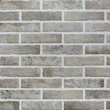 rondine brick effect wall tiles mud
