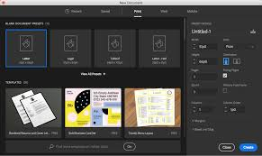 Free Artist Made Templates Now In Indesign Creative Cloud Blog By