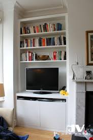 Alcove cupboards and shelving ideas, see more about bespoke fitted cabinets  and bookshelves, floating shelves, best fitted furniture in London.