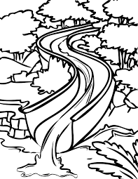 Small Picture Water Slide Coloring Page Handipoints
