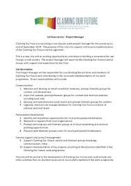 salary  •      to   job description   project manager claiming our       focus ireland