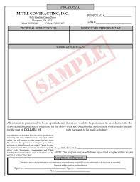 bid proposal forms job bid proposal template henrycmartin com
