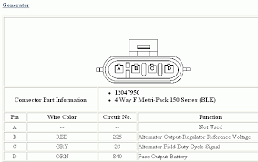 chevy wire alternator wiring diagram chevy image 1997 cavalier alternator one tell which wire goes to which terminal on chevy 4 wire alternator
