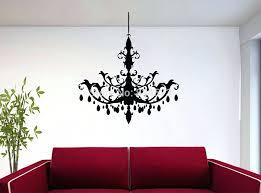 popular chandelier wall decals lighting ideas decal