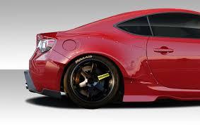 subaru brz red with spoiler. duraflex frp scion frs subaru brz gt500 wing trunk lid spoiler 1 piece u003e 20132017 ed_109620 brz red with r
