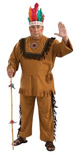 native american warrior costume men s plus size 46 52 17696