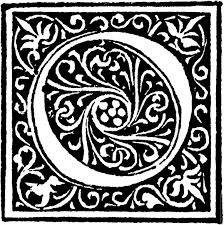 Decorative Letters Similiar Ornate Initial Capital Letters Keywords