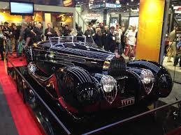 The cars were known for their design beauty and for their many race victories. 1959 Bugatti Type 57c By Far The Hottest Car At Sema2013 Hot Cars Bugatti Classic Cars