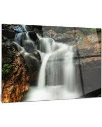 slow motion waterfall on rocks metal wall art  on waterfall metal wall art with don t miss this bargain slow motion waterfall on rocks metal wall