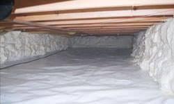 crawl space foam insulation. Contemporary Foam A Clean Insulated Crawl Space In Amherstburg Ontario On Crawl Space Foam Insulation