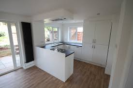 Plinth Lighting For Kitchens Gloss White Kitchen With Flush Ceiling Extractor Plinth Lighting