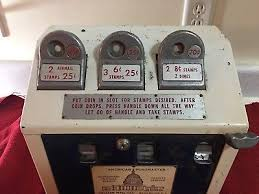 Stamp Vending Machine Locations Custom VINTAGE STAMP VENDING Machine US Post Office 4848 PicClick