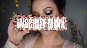 gold glam eye makeup mac mischief minx tutorial