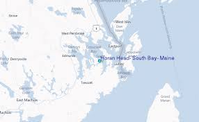 Horan Head South Bay Maine Tide Station Location Guide