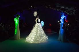 Wedding Dress With Lights Friday Finds Light Up Dresses And Cake Cups Light Up