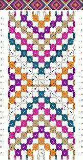 Diamond Friendship Bracelet Pattern