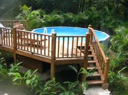 diy pool deck uniquely awesome above ground pools with decks design decor free standing pool deck diy pool deck interior pool deck decorating
