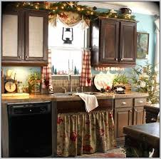 french country kitchen curtains photo 6