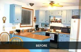 kitchen cabinet refacing staining painting diy