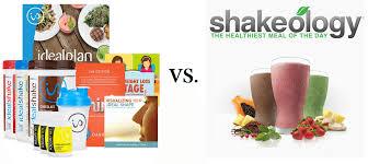 idealshape vs shakeology