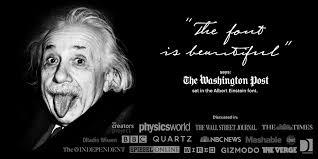 Albert Einstein Myfonts