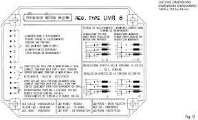 mecc alte automatic voltage regulator uvr6(avr uvr6) jeenda mecc alte generator troubleshooting at Mecc Alte Generator Wiring Diagram